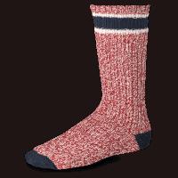Red Wing Wool Ragg Sock - red