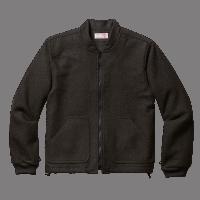Filson Wool Einzipp Jacke - Characoal