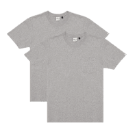 Deus 2-Pack Pocket Tee - Gray