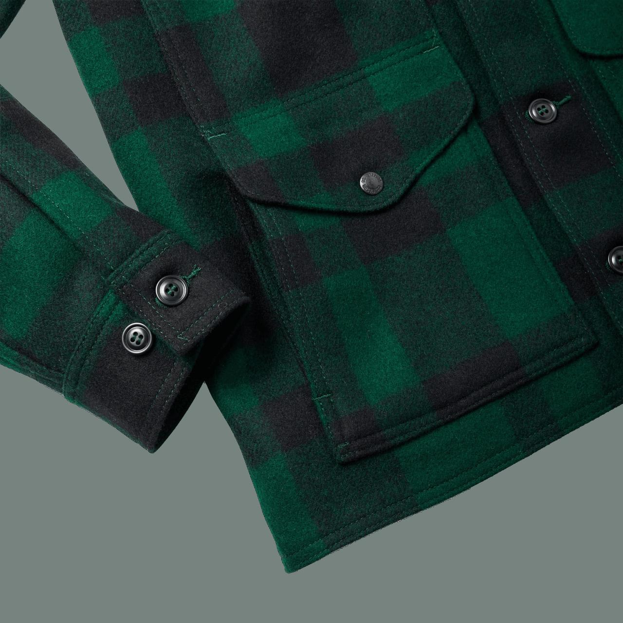 Filson Mackinaw Cruiser - Green/Black