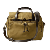 Filson Rugged Twill Padded Computer Bag - Tan